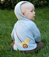 organic duck hoodie