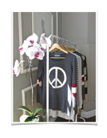 CHARCOAL PEACE PULLOVER