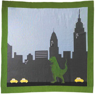 90/10 CASHMERE DINO NEW YORK BLANKET