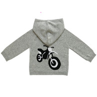 90/10 CASHMERE MOTORCYCLE HOODIE