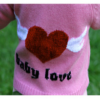 baby love cashmere hoodie