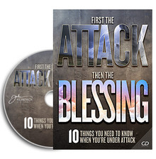 First The Attack Then The Blessing CD