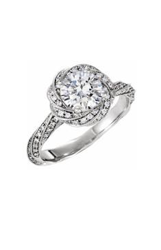 Diamond Swirls Ring