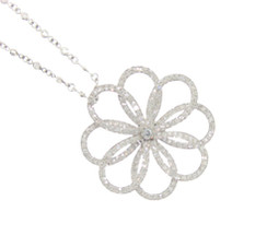 Diamond Pinwheel Pendant Sparkling Round and Round (for a grownup girl!)