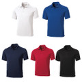 Sport-Tek Dry Zone Raglan Polo w/ Houston Chapter Logo