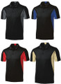 Sport-Tek Side Blocked Sport-Wick Polo w/ Houston Chapter Logo
