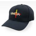 NMOA Logo Navy Umpire Hat