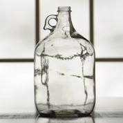 Glass Jug - 1 Gallon Clear (case of 4)