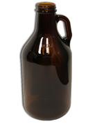 Glass Jug - 1/4 Gallon, 32 oz - Case of 12
