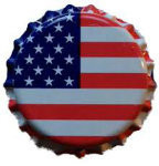 Oxygen Absorbing Bottle Caps - US Flag (144 ct)