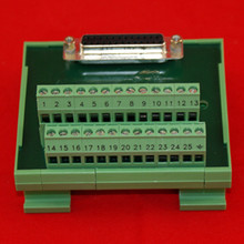 25PIN FEMALE D-SUB TERMINAL BLOCK
