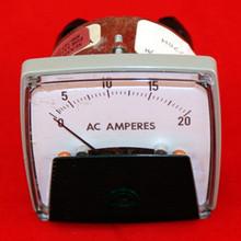 AMP METER, 0-20 AMPS