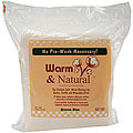 Warm and Natural Batting - Size - Full