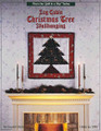 Log Cabin Christmas Tree Wallhanging by Eleanor Burns