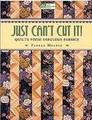 Just Can't Cut It! by Pamela Mostek