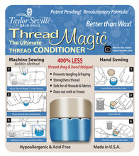 Better than Wax!  The Ultimate Thread Conditioner