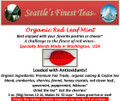 Organic Red Leaf Mint Tea