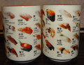 Japanese Sushi Tea Cups - Pair