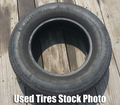 15 Inch Used Tires 205-75-15
