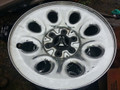 17 inch Chevy Steel Chromed