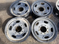 2011 Ford F350 8 lug Black Steel 17""