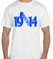 1914 AXE T-SHIRT (2X - 4X) - WHITE