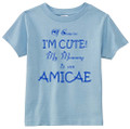 I'm Cute Toddler Tees - Amicae