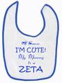 I'm Cute Bib - Zeta