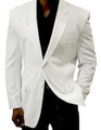 Men's White Blazer - Longs