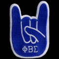 """Sigma Hand Sign Emblem - 4""""T"""