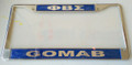 Sigma Call Tag Domed Plate Frames
