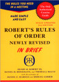 Robert's Rules Of Order - Brief