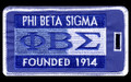 Sigma Luggage Tag - Founded 1914