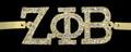 Zeta Austrian Crystal Bracelets - Gold