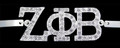 Zeta Austrian Crystal Bracelets - Silver