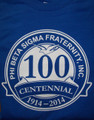 Centennial Series Royal T-Shirt - Small