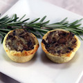 Wild Mushroom and Cheese Tart