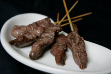 A tender slice of sirloin placed on a skewer and ready for your favorite marinade.   Units/case: 100