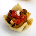 NEW! Roasted Tomato & Eggplant Crisp