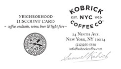 22Pt Gloss Laminated Loyalty Card for New York, NY
