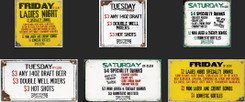Coroplast  Daily Special Signs for Brother's Bar & Grill of Newport, KY