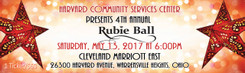 Numbered Tickets for Rubie Ball 2017