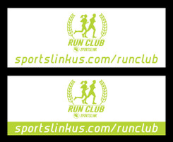 """96"""" x 36"""" Heavy Banner for SportsLink"""