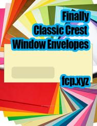 t 255 classic-crest-window-envelopes  67691