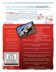 250 Trifold Brochures for Frontrunners of Phoenix AZ