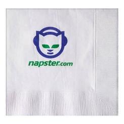 beverage napkin 2 color imprint