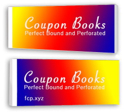Perfect Bound Perforated Coupon Books