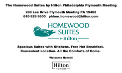 Mesh Banner with Reinforced Corners, 10'x6' Homewood Suites