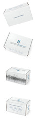 Full color 200 lb mailing boxes, 10x6x5 inches