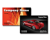 full color business cards